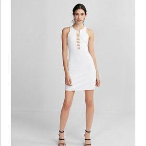 NEW Express white dress